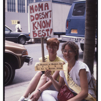 1984 Women Artists Protest Exclusion
