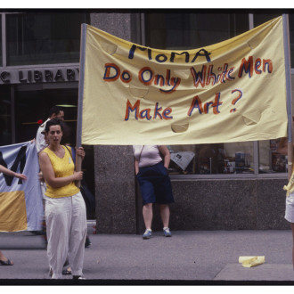30th Anniversary of Women Artists Protest MoMA