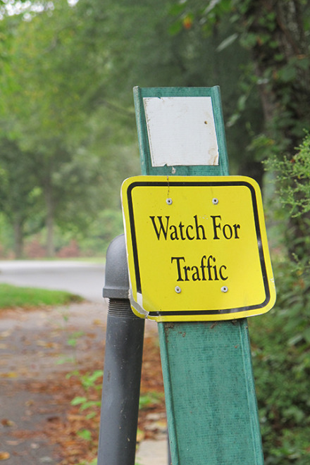 Watch for Trafic
